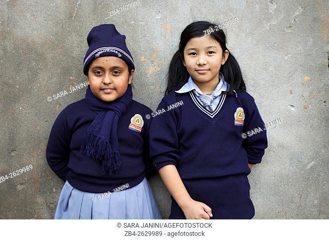 School, Kathmandu, Nepal, Asia