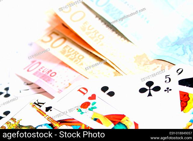 Karten und Geld