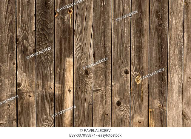 Weathered wood wall texture. Architectural background
