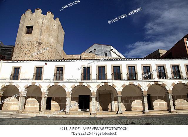 Plaza Alta. City of Badajoz. Extremadura. Spain