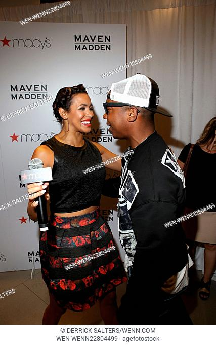 4a6fa3aed58 Designer Steve Madden and recording artist Ja Rule launch the release of  the Maven x Madden