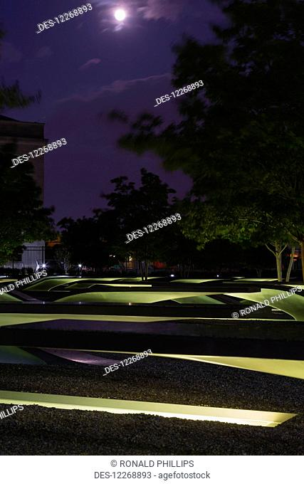 Pentagon Memorial; Arlington, Virginia, United States of America