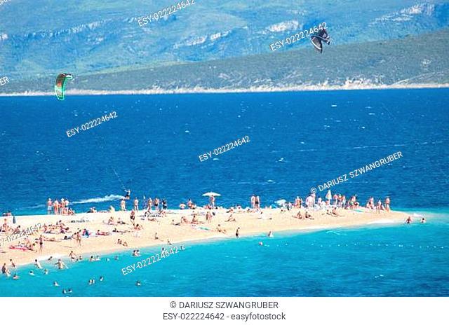 Golden Cape on Brac island, Croatia