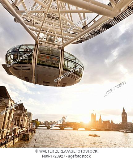 England, London, the London Eye