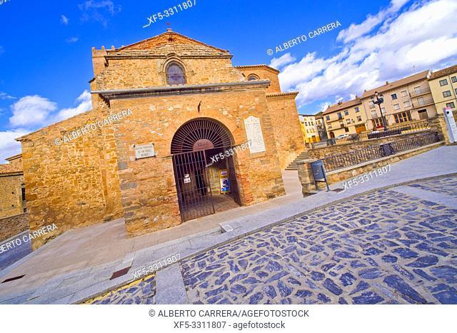 San Miguel Church,12-16th Romanesque-Gothic Style, Soria, Castilla y León, Spain, Europe