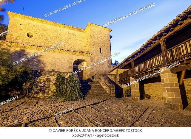 Church of Javier and Community of Missionary of Cristo Jesus, Santuary of Javier, Javier, Navarra, Spain