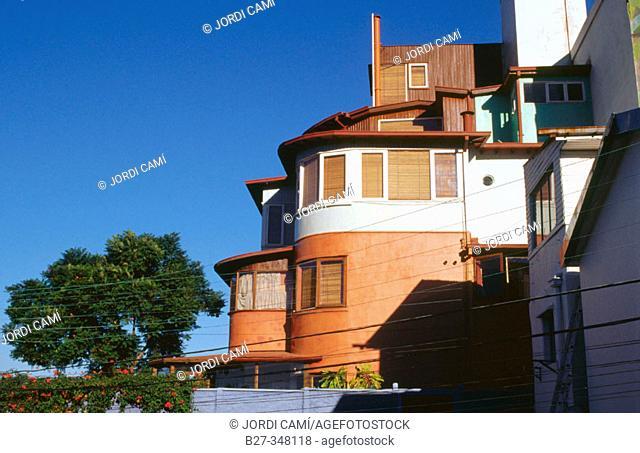 La Sebastiana. Pablo Neruda's House-Museum. Cerro Florida. Valparaíso. Chile