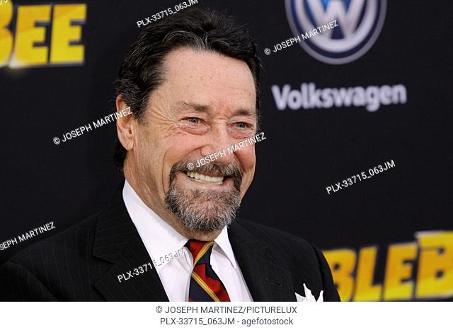 """Peter Cullen at the Premiere of Paramount Pictures' """"""""Bumblebee"""""""" held at the TCL Chinese Theatre in Hollywood, CA, December 9, 2018"""