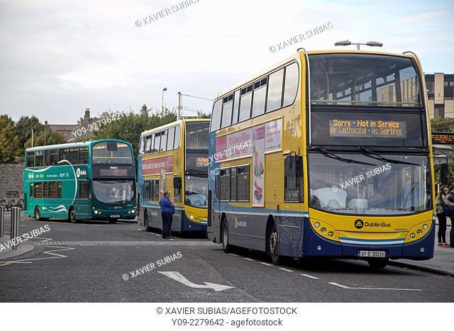 Bus, Heuston Station, Dublin, Leinster, Ireland