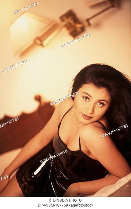 2000, Portrait Of Indian film actress Rani Mukerji