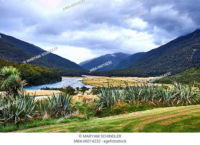 New Zealand, south island, Boundary track, Mount Brewster