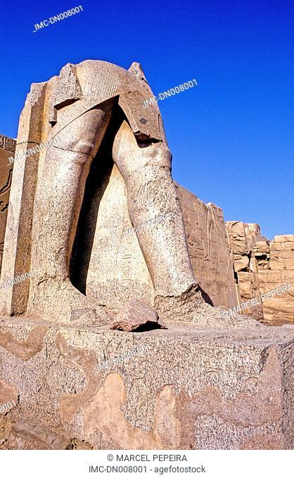 Egypt, Luxor, temple of Karnak