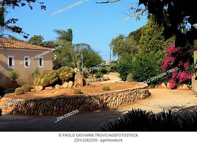 Botanicactus garden, Jardín Botánico, Ses Salines, Mallorca, Balearic Islands, Spain