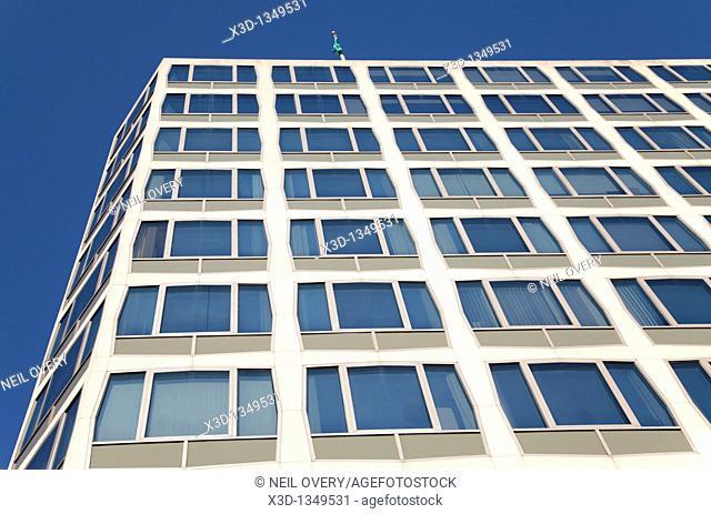 Side of Building, Washington, USA