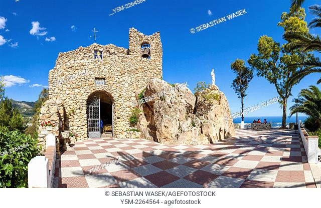 Church of the Virgin of the Rock, Santisima Virgen de la Pena, Mijas, Malaga Province, Andalusia, Spain, Europe