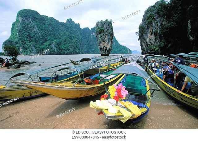 Phang Nga Bay. Thailand