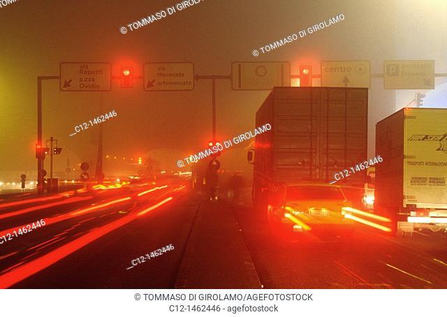 Milano, fog