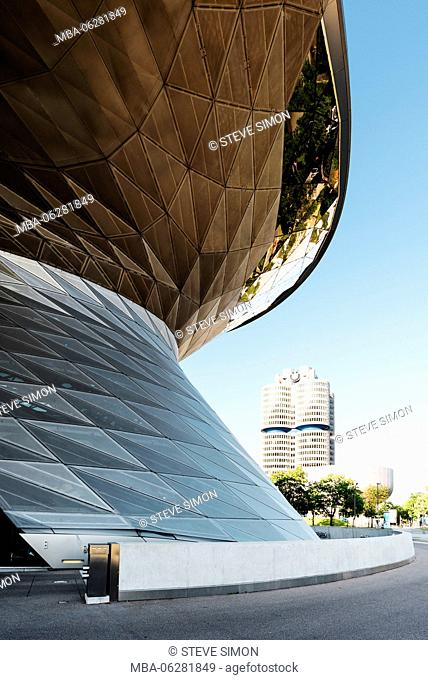 BMW Welt (BMW World), Munich, Bavaria, Germany