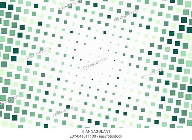 Halftone background. Comic style. Abstract geometric pattern with small squares. Design element for web banners, posters, cards, wallpapers