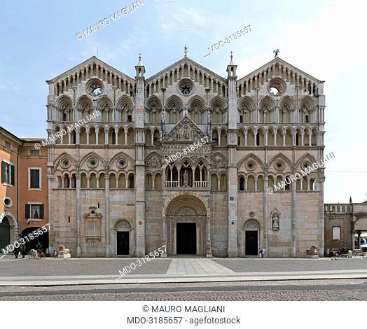 Ferrara Cathedral (Cattedrale di San Giorgio), 12-17th Century