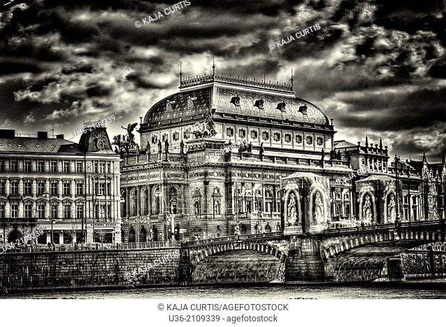 National Theater, Prague, Czech Republic