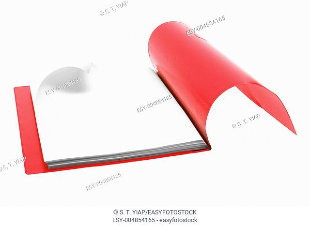 File Folder on White Background