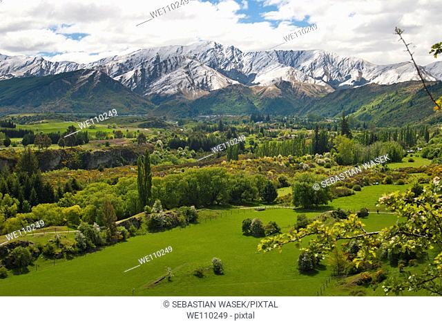 Mountain from Arrow Junction, Arrowtown, Wakatipu Basin near Queenstown, South Island, New Zealand
