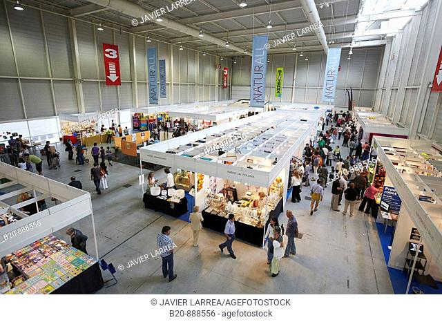 Bioterra Naturall (Organic products, bioconstruction, renewables energies, and efficient consumption fair), Ficoba, Irun, Guipuzcoa, Basque Country, Spain