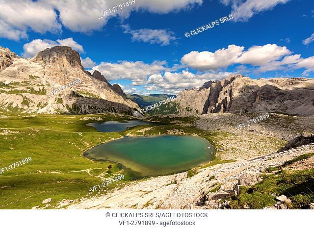 Tre Cime natural park, Bolzano province, Trentino Alto Adige, Italy