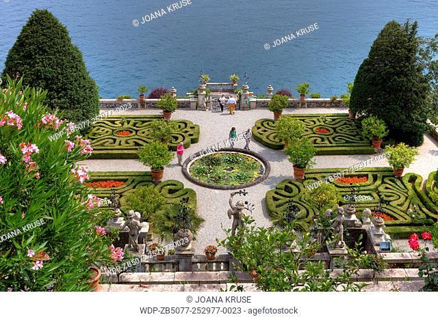 Isola Bella; Borromean Islands; Lake Maggiore; Piedmont; Italy