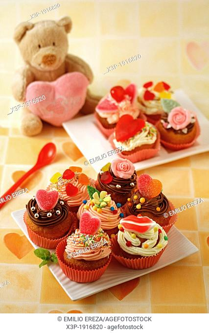 Fall in love cupcakes