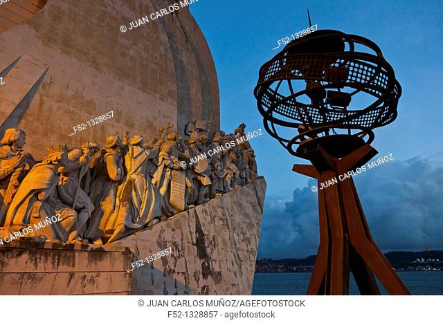 Monument to the Discoveries, Belem district, Lisbon, Portugal