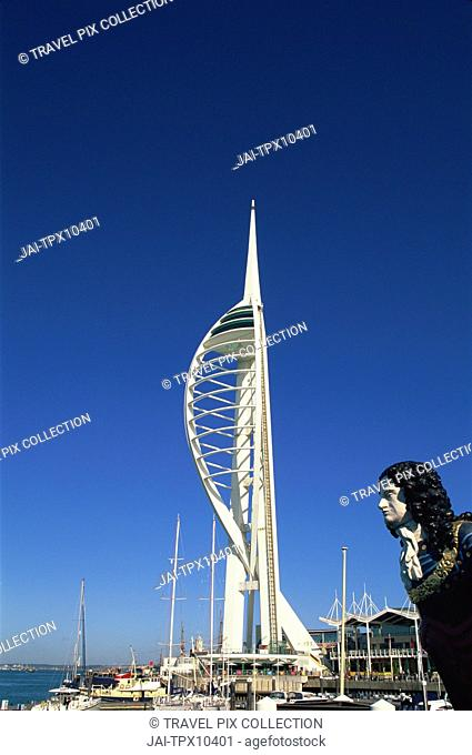 England, Hampshire, Portsmouth, Spinnaker Tower