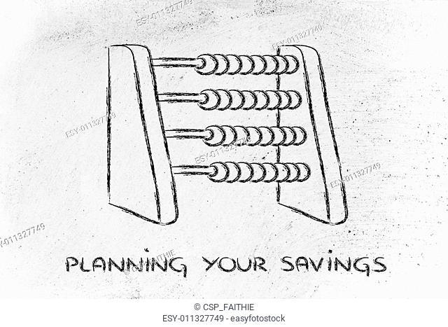 funny way to plan savings or set a budget