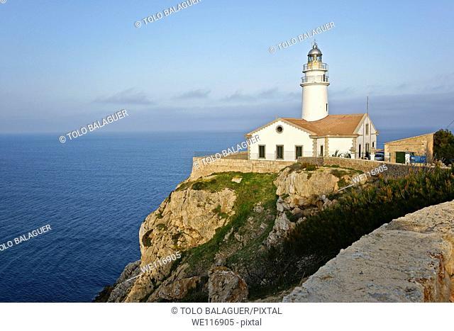 Lighthouse Capdepera, year 1861 Mallorca Balearic Islands Spain