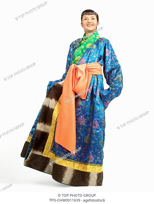 a woman of Tibetan Ethnicity