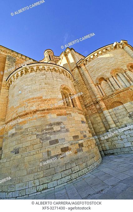 Collegiate Church of Santa María la Mayor, Romanesque Style, Toro, Zamora, Castilla y León, Spain, Europe