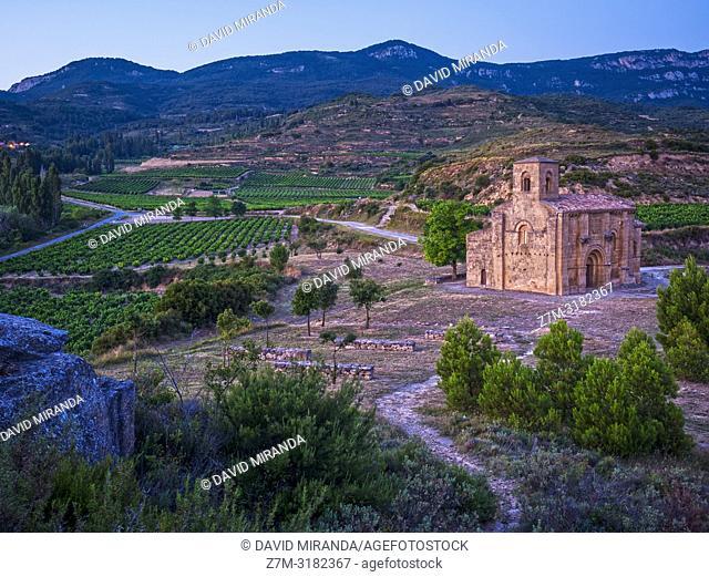 Ermita románica de Santa María de la Piscina. San Vicente de la Sonsierra. La Rioja. Spain