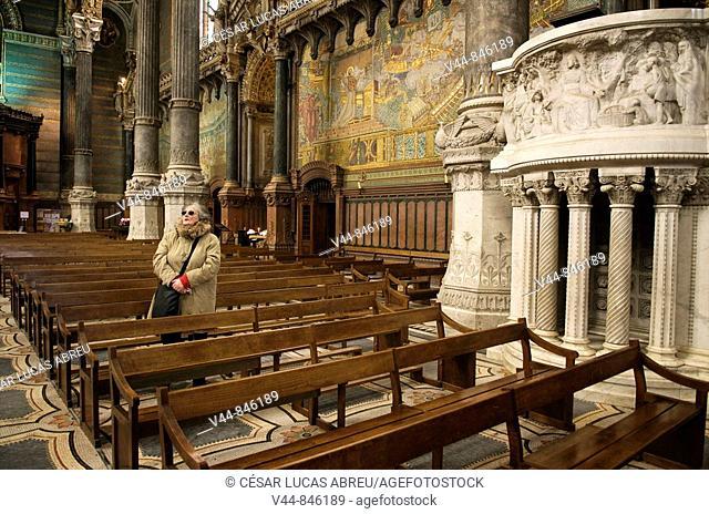 Abadia de Fourviere. Lyon. Rhone Alpes, Francia