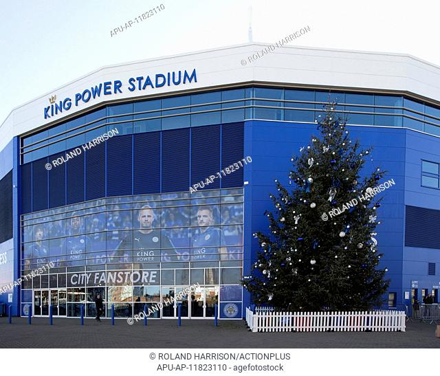 2016 Premier League Football Leicester City v Everton Dec 26th. 26.12.2016. King Power Stadium, Leicester, England. English Premier League Football