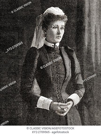 """Ethel St Clair Grimwood, 1867 - 1928. English author of the book """"""""My Three Years in Manipur and Escape from the Recent Mutiny"""""""""""