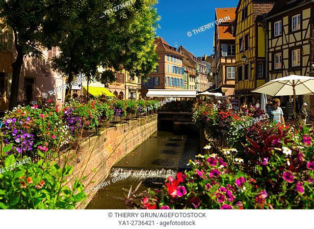 France, Haut-Rhin (68), Colmar town, Ancienne douane place