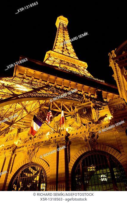Paris Hotel and Casino, Las Vegas, Nevada, USA