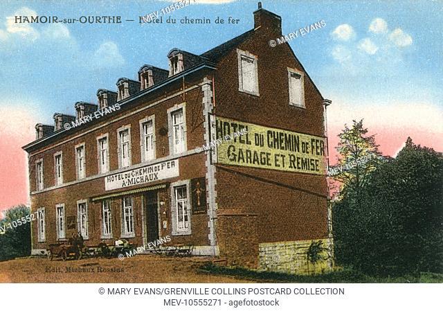 Hamoir-sur-Ourthe, France - Railway Hotel