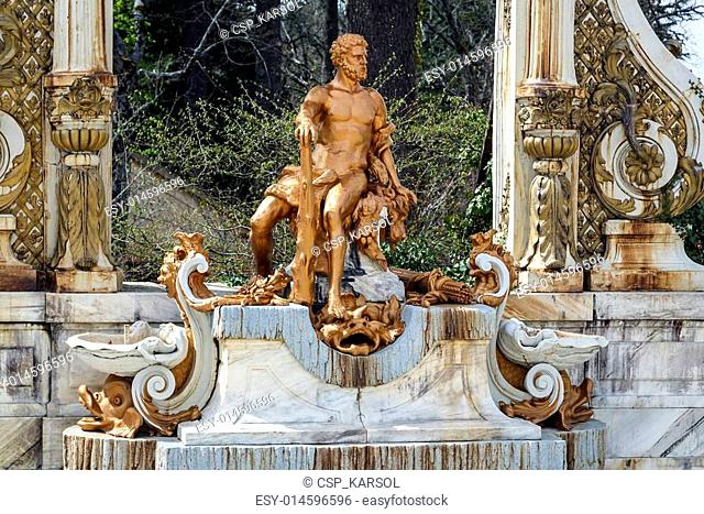 La Granja. Source Statue of Hercules