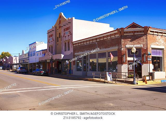 The El Sol Theater on N Bullard Street in downtown Silver City NM