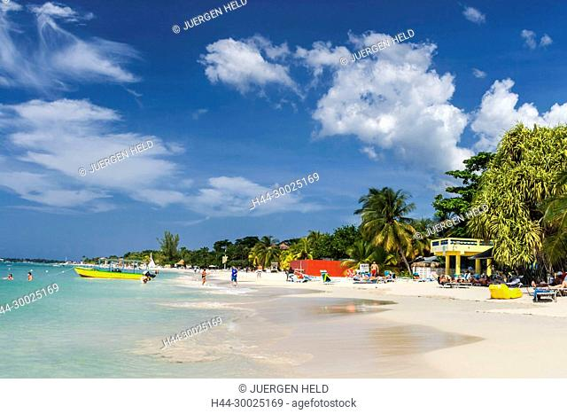 Negril beach, Jamaika