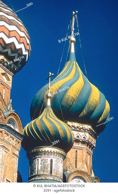 Cathedral of St. Basil. Moscow. Russia