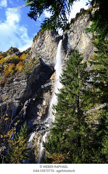 Switzerland, Europe, Graubünden, Grisons, national park, Engadine, lower engadine, Val Müschauns, S-chanf, stone, burr, Fuorcla Val Sassa, rock, cliff