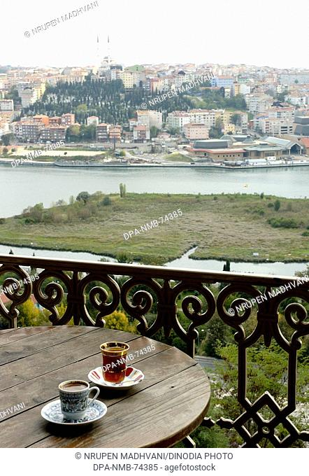 Cafe Pierre Loti Golden Horn View , Istanbul , Turkey